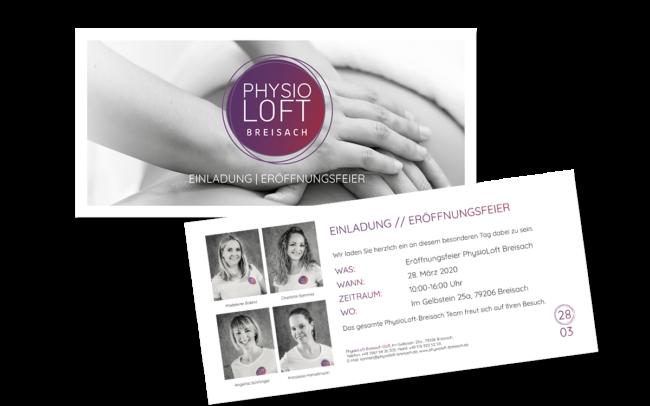 Einladung Physio Freiburg